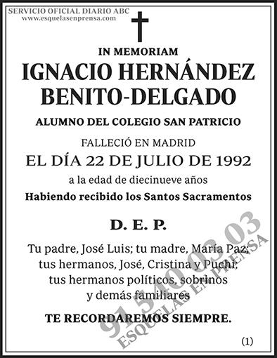 Ignacio Hernández Benito-Delgado